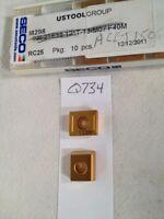8 NEW SECO ACET 150612TR-M11-4 CARBIDE INSERTS. GRADE T25M {Q734}