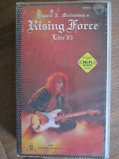 Yngwie J Malmsteen's Rising Force Live 85' VHS video