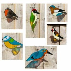 My Family House Hanging Suncatcher - Bird - Resin - Assorted Sizes