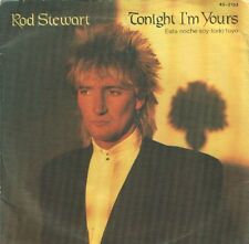 """ROD STEWART 7""""PS Spain 1981 Tonight I'm yours"""