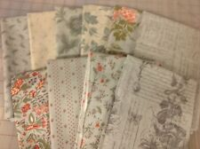 Moda 3 Sisters Quill Fat Quarter Fabric Bundle in Mist
