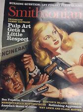 Smithsonian Magazine Pulp Art Gets Respect August 2003 062717nonr