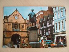 Postcard - CLIVE STATUE, SHREWSBURY.  Unused. Standard size..