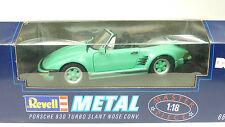 Revell Metall 1/18 Porsche 930 Turbo Slant Nose Conv. Nr. 8807 in OVP (LZ6363)