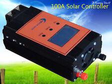 """2400W Smart Solar Controller,DC 12V / 24V,100AMP,3.5""""LCD,For 18V-36V Solar Panel"""