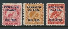 Mint Hinged British Protectorate Pre-Decimal Pacific Stamps