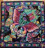 """Vintage Bob Mackie Wearable Art Scarf 100% Silk """"Butterflies"""""""
