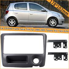 2 Din Car Stereo Frame Facia Fascia Trim Panel For Toyota Vitz Yaris Echo