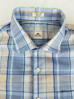 🔥 PETER MILLAR Mens Button Down Long Sleeve Tropical Check Size Extra Large XL