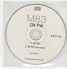 (GI125) M83, OK Pal - DJ CD