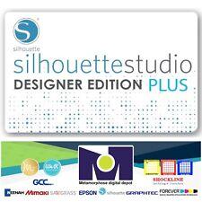 Silhouette Studio Basic Edition to Designer Edition PLUS Upgrade A $74.99 value