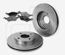 2 Bremsscheiben + 4 Bremsbeläge FORD vorne   Vorderachse 258 mm belüftet
