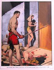 C.C BECK BOOK COVER PAINTING EDGAR RICE BURROUGHS GOD OF MARS