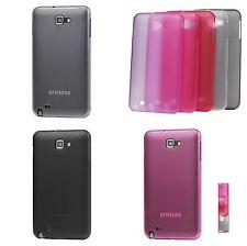 Hard - Schale Schutzhülle für Samsung Galaxy Note i9220 N7000 - Durchsichtig