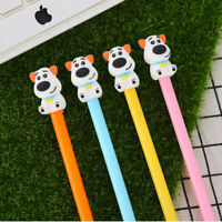 6Pcs Cute Kawaii Lovely Colorful Cartoon Novelty Dog Puppy Ball pens Gel Ink Pen