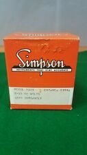 Simpson Volt Meter Model 2121 Awa Surplus Sales Stock 4