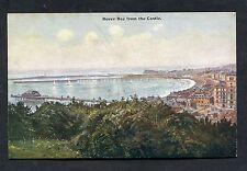 C1910 - Artist View of the Bay from Dover Castle, Kent