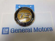 NEW, GM 2010 Chevy Suburban Diamond Edition 75 years emblem medallion ornament