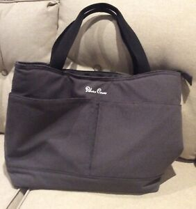 Used SILVER Cross Changing Bag Pursuit Flint Bag Grey Bag