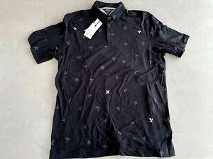 Adidas Adipure Polo Shirt Black Large