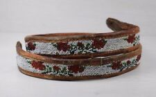 Traditional Antique Native North American Beaded Handmade Beadwork Belt Beads