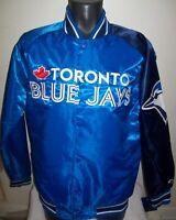TORONTO BLUE JAYS MLB STARTER Snap Down Jacket Sping/Summer BLUE/NAVY BLUE