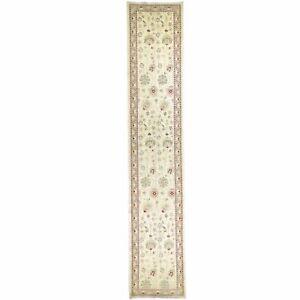 Hand-Knotted Oriental Peshawar Tribal Chobi Handmade Rug 2.9 X 14.3 Brral-1611