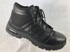 Original SWAT Mens Black Leather Steel Toe Boots 13 M            L6