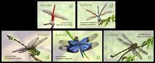 2017 Dragonflies - Set of 5 Self Adhesive Booklet Stamps - MUH