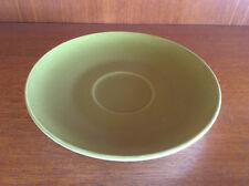 Vintage J&G Meakin Ceramic Sandwich / Cake Side Plate, Saucer, Green Brown Retro