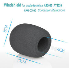 Pop Foam Windshield for audio-technica AT2035  AT2020 Microphone AKG C3000 MIC