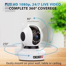 NEW Wifi Security Camera System Outdoor Wireless Indoor With Night Vision 1080p