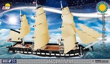 COBI USS Constitution / 21078 / 800 elem. bricks Smithsonian US warship  toy