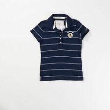 Gestreifte klassische Damen-Poloshirts aus Baumwollmischung