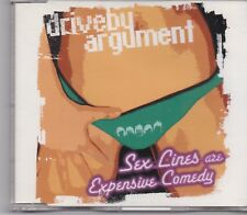 Drive By Argument-Sex Lines Are Expensive Comedy cd maxi single