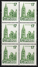 Canada 17c Parliament Block, Scott 790a, VF MNH, catalogue - $300 NICE