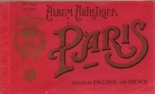 14 Vintage postcards of Paris Album Artistique Paris POSTCARD Vintage