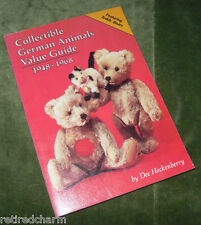 ❤Collectible German Animals Value Guide Book 1948-1968 Hockenberry Teddy Bears❤