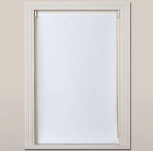 John Lewis BLACKOUT Roller Blind. WHITE. 91cm width x 160cm drop