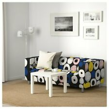 IKEA KLIPPAN Cover for Klippan 2 seat Sofa Loveseat Multicolor Dots Circles NEW