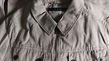 Calvin Klein Jeans Da Uomo Slim Beige Kaki Jacket-UK Taglia M/S