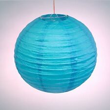 "2 X 14"" Blue Chinese/Japanese Paper Lantern Lampshade Wedding Party Decoration"