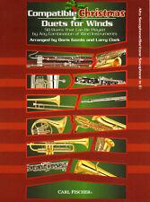 Compatible Christmas Duets for Winds Alto Baritone Saxophone Altsaxophon Noten