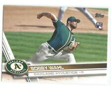 Bobby Wahl Oakland A's 2017 Topps Update Baseball Rookie Card