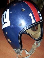NEW YORK GIANTS 1960 Throwback Vintage MacGregor Gold Smith FOOTBALL HELMET
