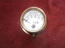 Vintage Aster car oil pressure gauge