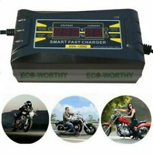 New Souer Genuine 12V 6A Smart Car Motorcycle Battery Charger LCD Display