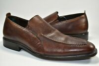 Cole Haan Leather Dress Shoes Nikeair Sole Loafers Brown Men Slip On Size 11.5 M