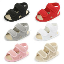 New Arrived Baby Boy Girl Crib Shoes Comfortable Infant Soft Sole Summer Sandals