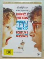 Honey I Shrunk The Kids 1 + 2 +3 Trilogy (DVD, 2009, 3-Disc Set)